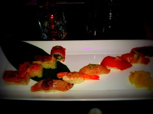 The infamous sushi.